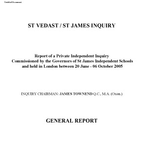 Townend Inquiry Report (PDF file: 331KB)
